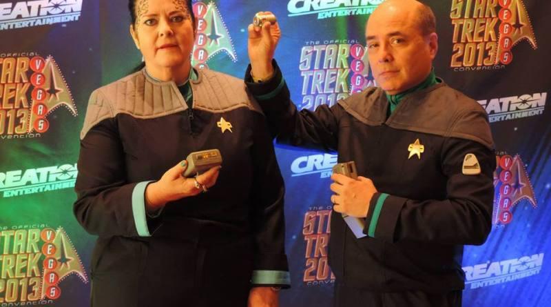 CC - Michael and Karen Malomay Star Trek cosplayers