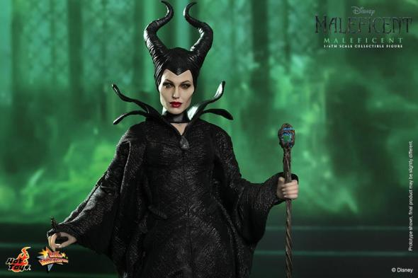 Hot Toys Maleficent wide with staff