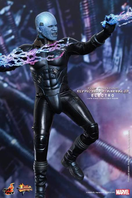 Hot Toys The Amazing Spider-Man 2 - Electro with bolts