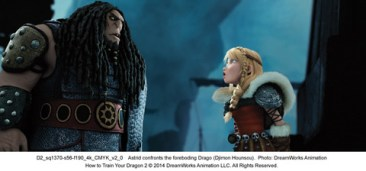 how-to-train-your-dragon-2-Drago and Astrid