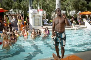 Matt Kennedy/Screen Gems  Cedric (Kevin Hart) at the pool in Vegas.