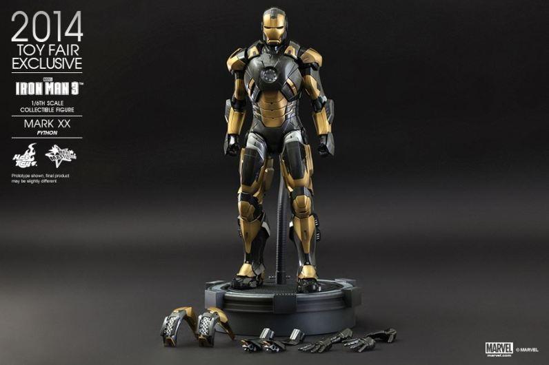 Hot Toys Iron Man Mark XX Python Armor - accessories
