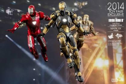 Hot Toys Iron Man Mark XX Python Armor - with armada