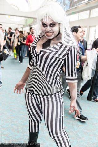 SDCC 2014 cosplay - Lonnie as Beetlejuice