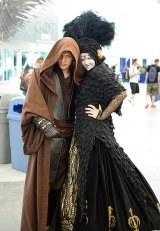 SDCC2014 cosplay - Anakin and Padme