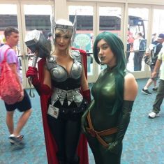 SDCC2014 cosplay - Angi Viper and Miss Pirate Savvy