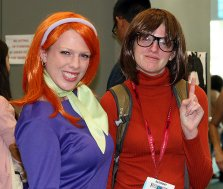 SDCC2014 cosplay - Daphne and Velma
