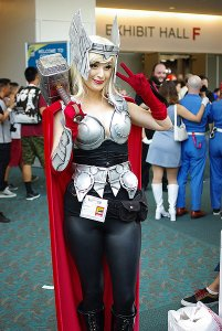 SDCC2014 cosplay - Lady Thor