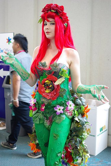 SDCC2014 cosplay - Poison Ivy 2