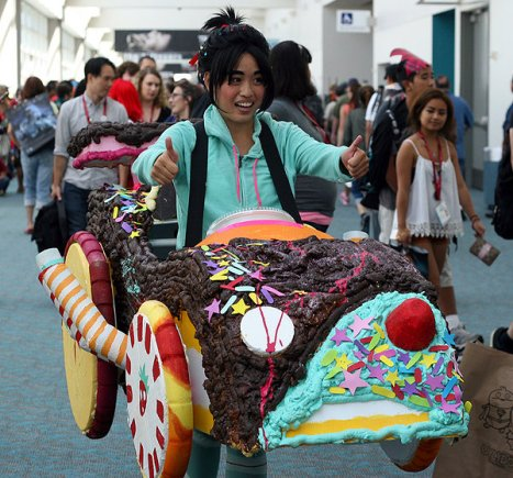 SDCC2014 cosplay - Vanellope from Wreck it Ralph