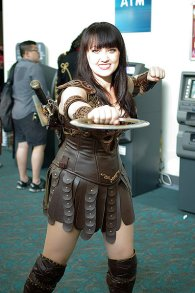 SDCC2014 cosplay - Xena