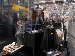 SDCC2014 Hot Toys display - Dark Knight Joker, Batman Returns, Arkham Batmandisplay
