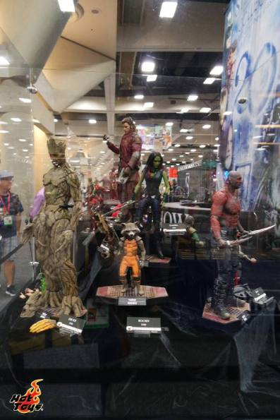 SDCC2014 Hot Toys display - Guardians of the Galaxy display