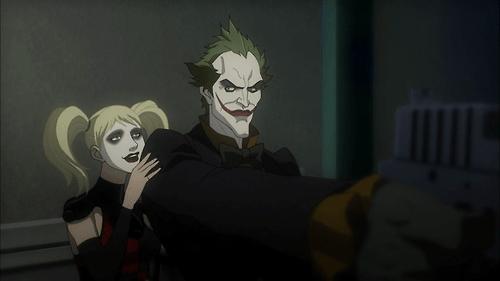 batman-assault-on-arkham-harley and joker