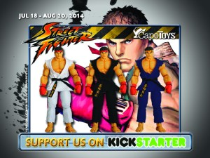 Capo Toys StreetFighter Kickstarter