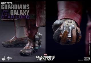 Hot Toys Guardians of the Galaxy - Star Lord accessories