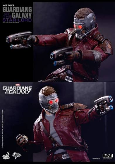 Hot Toys Guardians of the Galaxy - Star Lord aiming guns2