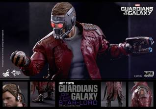 Hot Toys Guardians of the Galaxy - Star Lord collage