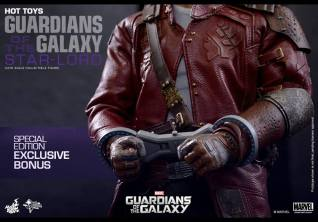 Hot Toys Guardians of the Galaxy - Star Lord cuffed