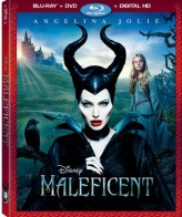 Maleficent blu ray cover