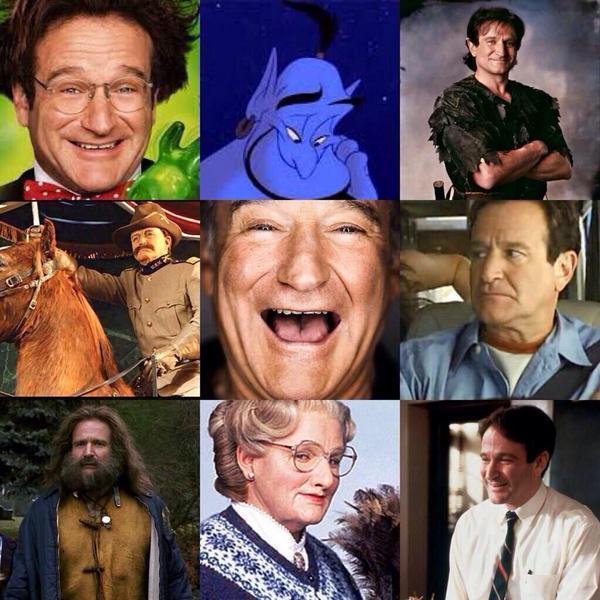 Robin Williams roles