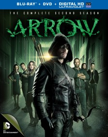 arrow season 2 blu ray cover