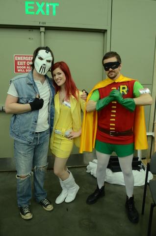 Baltimore Comic Con 2014 - Casey Jones, April O'Neal and Robin