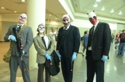 Baltimore Comic Con 2014 - clown robbers