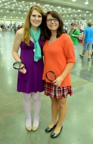 Baltimore Comic Con 2014 - Daphne and Velma