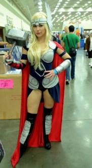 Baltimore Comic Con 2014 - female Thor
