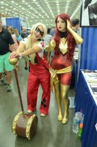 Baltimore Comic Con 2014 - Harley Quinn and Dark Phoenix