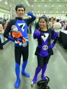 Baltimore Comic Con 2014 - Lantern corps