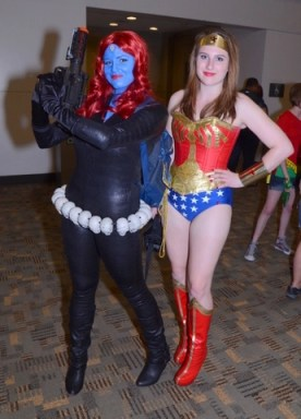 Baltimore Comic Con 2014 - Mystique and Wonder Woman
