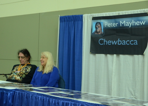 Baltimore Comic Con 2014 - Peter Mayhew