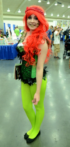Baltimore Comic Con 2014 - Poison Ivy 3