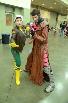 Baltimore Comic Con 2014 - Rogue and Gambit
