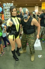 Baltimore Comic Con 2014 - Silk Spectre and Bane