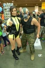 Baltimore Comic Con 2014 - Silk Spectre and Bane