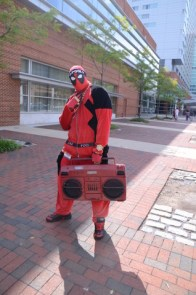 Baltimore Comic Con 2014 - street Deadpool 2