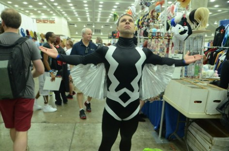 Baltimore Comic Con 2014 - unmasked Black Bolt