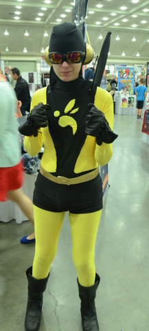 Baltimore Comic Con 2014 - Yellowjacket II