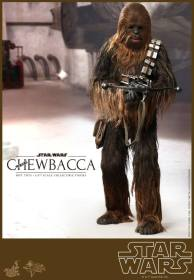 Hot Toys Star Wars Chewbacca - aiming bowcaster