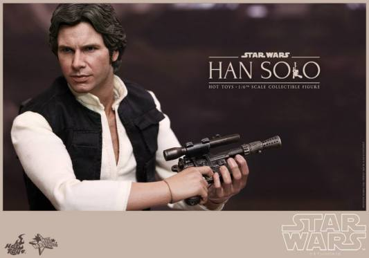 Hot Toys Star Wars Han Solo - close up