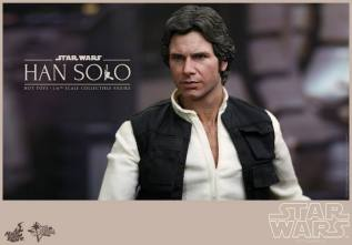 Hot Toys Star Wars Han Solo - profile