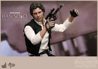 Hot Toys Star Wars Han Solo - ready for battle
