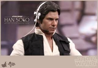 Hot Toys Star Wars Han Solo - with headset