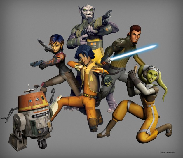 Star Wars Rebels main cast