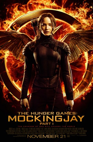 The Hunger Games Mockingjay - Jennifer Lawrence asKatniss