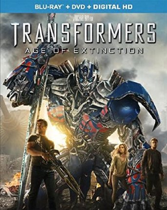 Transformers Age of Extinction blu-ray cover