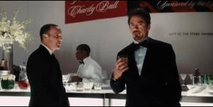 Agent Coulson and Tony Stark